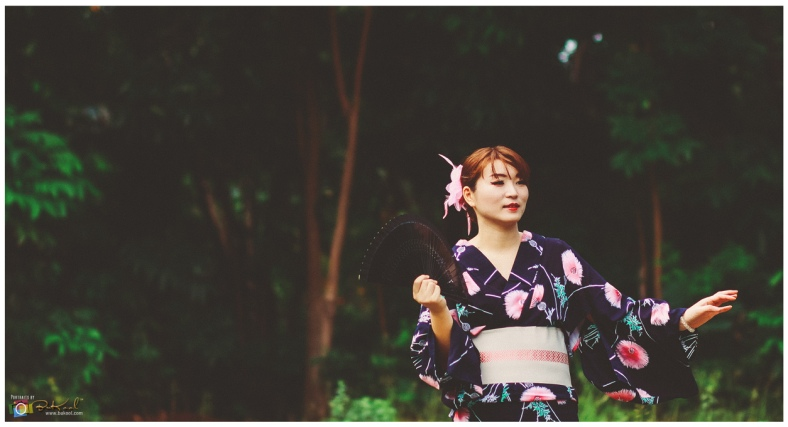 Personal Portfolio Shoot, Geisha Theme, Japanese Model, Camp Marina Cebu