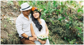 Best Places for Prenup in Cebu, Bohemian Theme, Boho Chic, Camp Marina Prenup, Peppermint Makeup Artistry, Raine Miro
