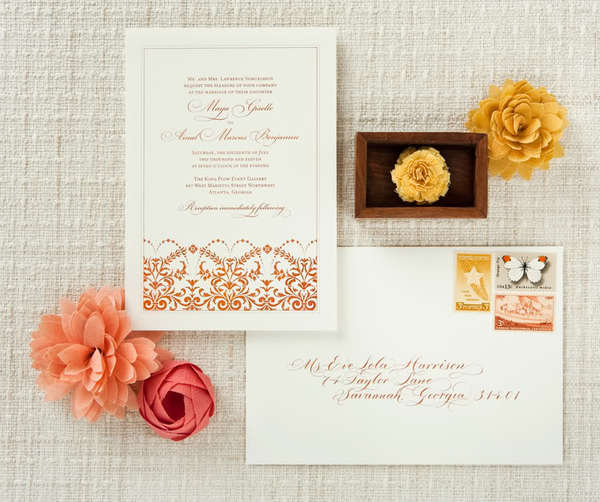 10 ways to save big on your wedding invitations portraits by wedding invitation loverly wedding photographer stopboris Image collections