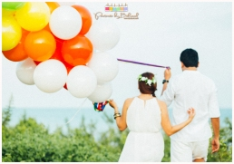 pangea beach resort lilo-an cebu prenup, engagement session, bukool photography, cebu wedding package, skye wedding coordinator, erwin-chuchi prenup, fantasy theme prenup, peppermint makeup artistry by raine, balloons prenup