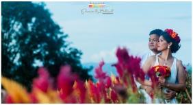 Abe-Shang | Sirao Flower Farm Prenup