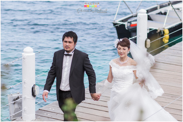 shangri-la mactan wedding, japanese wedding, beach wedding, destination wedding, bukool films, portraits by bukool, cebu destination wedding photographer and videographer