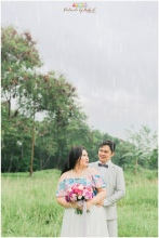 vintage themed prenup, rain prenup, vintage bicycle, good shepherd cebu prenup, liz cinco hair and makeup artist, bukoolfilms wedding video, portraits by bukool, cuckoo cloud concepts