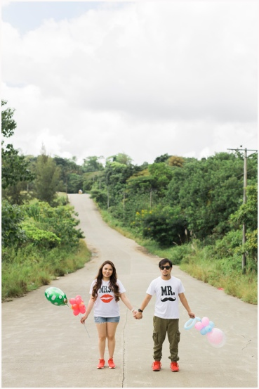 Ayala Heights Cebu Prenup, BukoolFilms, Cebu Wedding Photographer, Cebu Wedding Videographer, Dave and Love Prenup, Sirao Prenup,Balloon Props,Couple Shirts