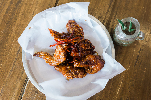 Food Photography Cebu, Product Photography, Chicken Wings, Flavored Turon, Cio's Kitchen