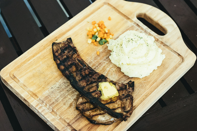 Food Photography Cebu, Product Photography, The Meat House Cebu, Pork Steak, Wagyu Beef