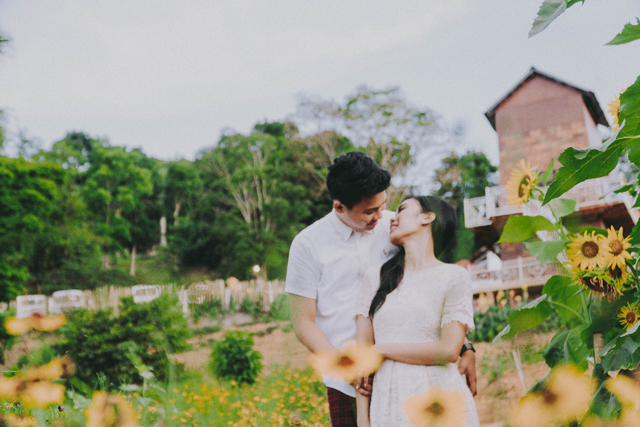 Mormons Wedding, Temple of Leah Prenup, Sirao Flower Farm Prenup, Little Amsterdam of Cebu, Marlou-Mary Prenup, Portraits by Bukool, BukoolFilms, Max Golosino Makeup Artist