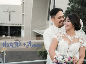 GAC Wedding Errands, Kael Hernandez Bontia Makeup Artist, Nick-Anna Wedding, Portraits by Bukool, Sacred Heart Parish, Waterfront Hotel Wedding, Bridal Gown by Oleg Cassini, Flowers by TE and A, BukoolFilms, Barong by Kultura, Ryan Uybengkee Wedding Host, Temple of Leah Prenup